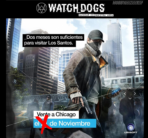 Watch_Dogs se retrasa hasta la primavera del 2014!